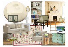 """Living Room: M.M. Blanchard style"""