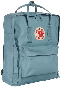 Fjallraven Kanken Backpack - Sky Blue - Free Shipping @lisamcleod I love this color! I may have to get it...