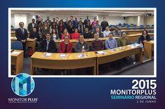 Participantes do Seminário Regional Monitor Plus no Brasil