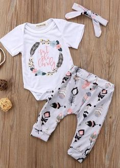 Isn't She Lovely Baby Girl Outfit #babygirloutfits
