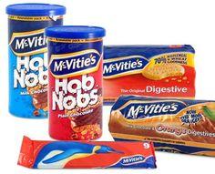 McVitie's Biscuits. A tea time treat! http://www.englishteastore.com/mcbi.html