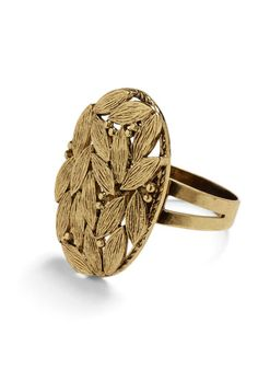 Love this ring, it's very Autumny ;-)