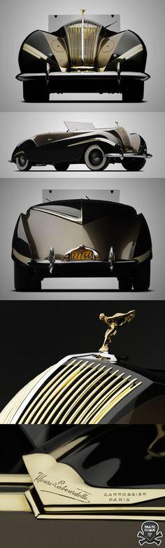 Rolls-Royce Phantom III Cabriolet 1939Design,Veículos Clássicos,Rolls-Royce Phantom III Cabriolet 1939,Blog do Mesquita XXX