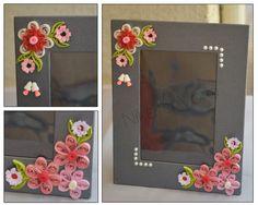 Niketa's Creative Corner: quilled photo frame