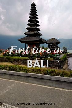 First time in Bali