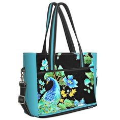 Joli One Peacock black and turquoise