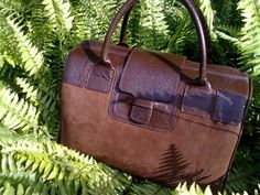 ESTEFAN Brown Mateo 14'' Handbag