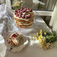 Think Food, I Love Food, Good Food, Yummy Food, Bolo Cake, Cute Desserts, Just Cakes, Cafe Food, Pretty Cakes