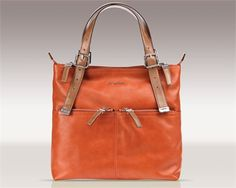 Lily Diaper Bag in Burnt Orange by Sugarjack - RosenberryRooms.com