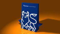 Espositore bifacciale Totem  con 2 vani laterali porta depliant 21x10.