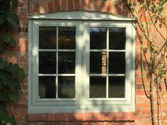 Timber Window Frames, Timber Windows, Casement Windows, Brick Cottage, Cottage Windows, Farm Cottage, Cottage Ideas, Modern Cottage Style, English Cottage Style