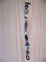 Black and Grey Bracelet   $20.00