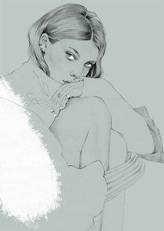 hyekhim:  Daria Werbowy