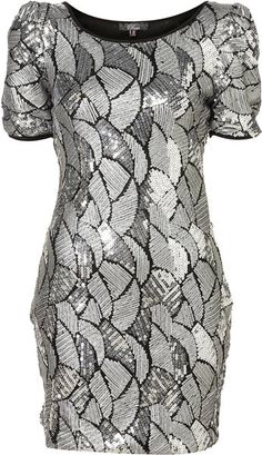 Sequin Shift Dress By Rare** - Lyst