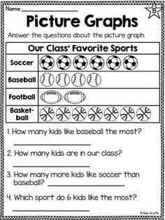 Grade 3 Maths Worksheets: Pictorial Representation of Data