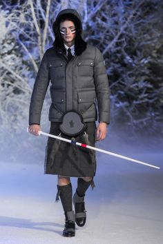 Moncler Gamme Bleu – Fall/Winter 2013 Collection - Style Engine