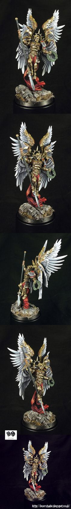 Lucifer First of the Host, Chapter Master of the Blood Angels