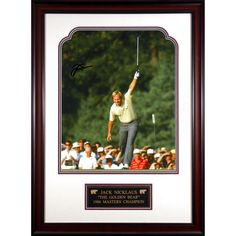 "Jack Nicklaus Fanatics Authentic Framed Autographed 16"" x 20"" 1986 Masters Champion Photograph - $389.49"
