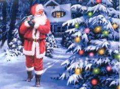 Image result for Wallpaper Christmas Santa
