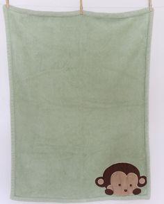 Mod Pod Pop Monkey Blanket 38 X30