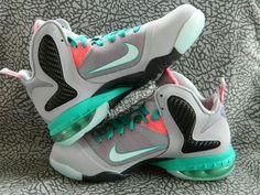 promo code 232ae 0ead2 Kids Nike LeBron 9 GS Miami Vice Roshe Shoes, Nike Roshe, Lebron 9,
