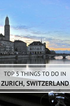 Zurich, Switzerland is a culturally rich hot spot with a contemporary flare and plenty of things to do to keep you busy. Oh The Places You'll Go, Places To Travel, Travel Destinations, Places To Visit, European Vacation, Vacation Spots, European Travel, Zurich, Switzerland Vacation