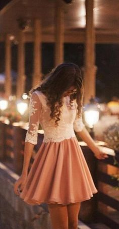 Selling Cheap Short Homecoming Dresses 1/2 Long Sleeve #Short Homecoming Dress #HomecomingDresses #Short PromDresses #Short CocktailDresses #HomecomingDresses