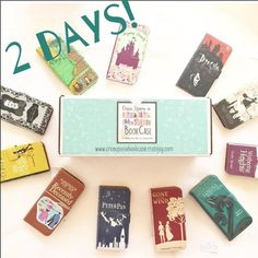 "2 days left to sign up for the @onceuponabookcase #subscriptionbox for October! We'll be closing the October Box on September 30th. Packing up the ""Girly Girl"" and ""Anything & Everything"" boxes now! $26 plus shipping each month and it includes a monthly Book Phone case along with 2-3 gifts that surround the theme of the BookCase!  by chicklitdesigns"