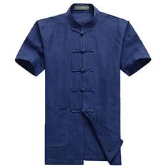 Jaycargogo Mens Luxury Short Sleeve Satin Pajama Set with Pants