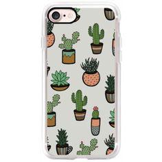 Cacti - Succulents - iPhone 7 Case, iPhone 7 Plus Case, iPhone 7 Cover, iPhone 7 Plus Cover