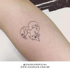 Heart Tattoos With Names, Mom Tattoos, Wrist Tattoos, Body Art Tattoos, I Tattoo, Tatoos, Tattoo Shows, Beautiful Tattoos, Tatting