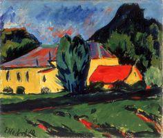 Erich Heckel - Aus Moritzburg, 1910