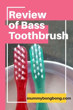 Review of Bass Toothbrush : It has fewer bristles and help to remove bacteria from the teeth and gums. Oral Health, Dental Health, Health Tips, Decay, Bass, Teeth, How To Remove, Tooth, Dental