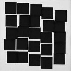 Vera Molnar, 25 Carrès Squares), Ca. 44 x 44 cm, Unikat Vera Molnar is a pioneer in the field of Digital Art. Art Génératif, Op Art, Generative Kunst, Constructivist Approach, Drawing Now, Academic Art, My Art Studio, Geometry Art, Computer Art