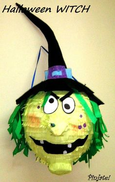 HALLOWEEN WITCH pinata - Halloween pinata,Halloween gift,Birthday gift,HALLOWEEN and any other party joy...for all ages with young spirit :) by PinjateNoviSad on Etsy