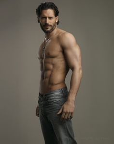 Alcide; if you don't watch True Blood this is why you should.