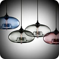 Aurora pendant lights by Jeremy Pynes