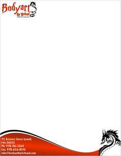 Letter head designs | Letter Head Design | Pinterest | Design and ...