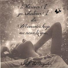 Wherever I go...