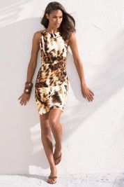 Boston ProperAnimal sheath dress