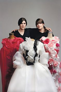 in my dream life, i'm able to create a powerful brand for my work, like rodarte.