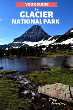 Plan your vacation with this Glacier National Park itinerary 5 days of the top things to see and do. Plus tips for the first-time visitor!