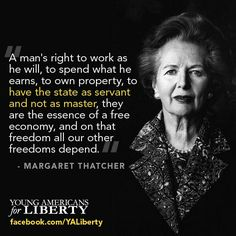 Margaret Thatcher - We need more great minds like hers! The world truly lost a great lady!