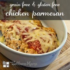 Grain-Free Chicken Parmesan