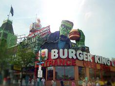 Frankenwhopper  Saw this on our trip to Niagara Falls.
