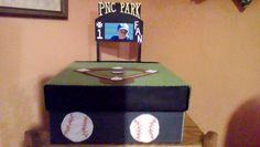 Grandsons Baseball Valentine Box.