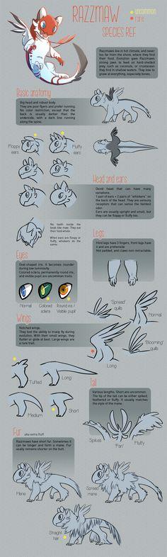 Razzmaw species ref (outated but still relevant) by Kin-Seizh.deviantart.com on @DeviantArt