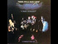 "Crosby, Stills, Nash & Young ""Wooden ships"" LIVE - RARE !!"