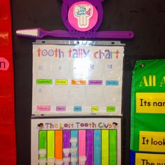 Missing tooth club tally/graph charts - love this! Kids always like to have their lost teeth celebrated and this brings in some math and graphing. Fun Classroom Activities, Classroom Design, Preschool Classroom, Future Classroom, Kindergarten Math, Fun Math, Classroom Organization, Classroom Ideas, Preschool Crafts