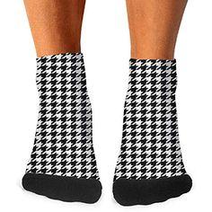 Unisex Cactus Flowers Green Athletic Quarter Ankle Print Breathable Hiking Running Socks